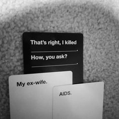 Funny Text Memes, Bad Memes, Stupid Memes, Funny Jokes, Hilarious, Cards Vs Humanity, Funniest Cards Against Humanity, Dark Jokes, Twisted Humor