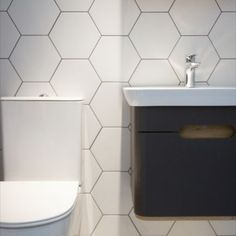 Hexagon tiles are some of the most versatile wall and floor tiles in Ireland. Hexagon tiles can be used on both walls and floors. First Kitchen, Hexagon Tiles, Wall And Floor Tiles, Basic Grey, White Porcelain, Floors, Ireland, Branding Design, Walls