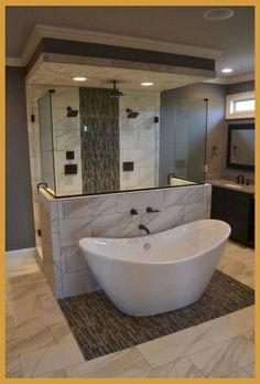 Well, there's no better time to give your small bathroom a fresh look. Small bathroom design is finally stepping out of the cookie… Continue Reading → Luxury Master Bathrooms, Dream Bathrooms, Beautiful Bathrooms, Small Bathrooms, Master Bathroom Plans, Bathroom Floor Plans, Master Baths, Rustic Master Bathroom, Luxurious Bathrooms