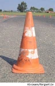 Image result for old traffic cone