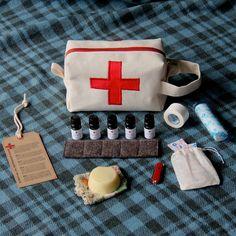 hippie first aid kit