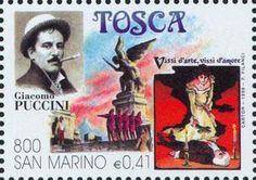 Tosca, an opera by Puccini (image)