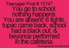 Lol yes I'm like WHAT ALL THAT HAPPENED WHILE I WASNT HERE!