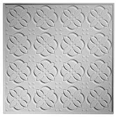 The traditional abstract floral pattern of the Desert Flower traditional ceiling tile sophisticated ceiling tile option. Traditional Tile, Traditional Interior, Interior Ceiling Design, Desert Flowers, Ceiling Tiles, Commercial Interiors, Tile Design, Ceilings, Deserts