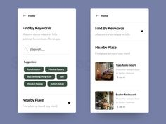 Search Page For Marketplace by Aris Prabowo