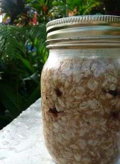 oatmeal in a jar - 5 minutes to breakfast!