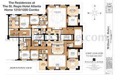 St Regis 1210 1220 Combo Floor Plan