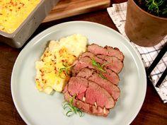 Lammstek med sardeller och vitlök   Recept.nu