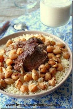 Couscous algérien / couscous de cherchell