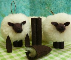 Feeling SHEEP-ish Enough to Make a Wooly Critter?