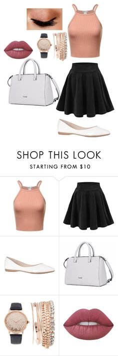 """""""girlygirl"""" by brooke-mcnicoll ❤ liked on Polyvore featuring Jessica Carlyle, Lime Crime and Avon"""