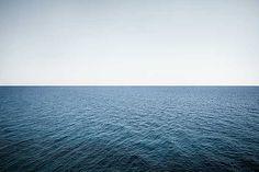 Wolfgang Uhlig, 39° 08' 23.7'' N 9° 33' 37.5'' E, 2014 / 2014 © www.lumas.com/ #Lumas - #blue #Horizon #Landscape #meditative #Nature #Ocean #Oceans #Photography #Sea #Seas #Sky #Water #Wave #Waves