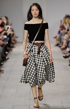 It's a gingham thing for me.  I have always loved the print. Spring 2015 Fashion week