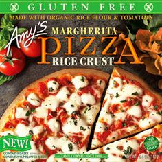 Amy's Kitchen Margherita with Rice Crust Pizza