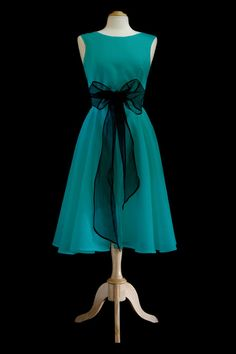 Vintage Inspired Linen Wrap Dress