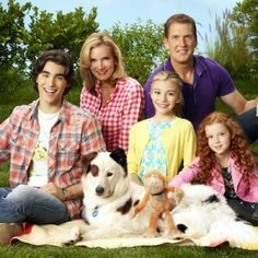 Dog With a Blog Disney Channel-I know lots of people don't like this show, but I don't mind it.