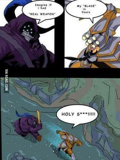 Image about funny in League of legends 🎮👾 by Surfer-anastasia Lol League Of Legends, League Of Legends Boards, League Of Legends Video, League Of Legends Characters, Master Yi, Doki Doki Anime, League Memes, Jokes Pics, Starcraft