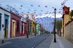 A neighborhood in the Oaxaca city center is a great place to stay in Oaxaca Mexico