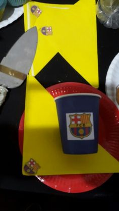 Personalised Paperware FC Barcelona