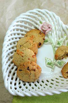 White Chocolate Nut Cookies