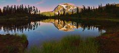 Picture Lake by jasonwilde.deviantart.com on @deviantART