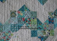 Creative Dabbling: Hand quilted with love