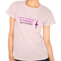 """Prove yourself to yourself, not others"" quote t-shirt"