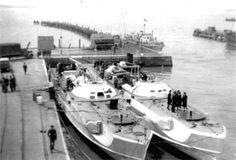 German S-boat`s in port: