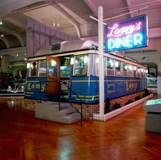 MotorCities - A Brief History of the Henry Ford Museum | 2019 | Story of the Week Rosa Parks Bus, Diner Booth, Social Transformation, Henry Ford Museum, Digital Story, Assembly Line, A Decade, Historical Sites, Historian