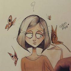 Character Design Illustration @ Instagram