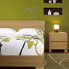 The bedroom la chambre coucher on pinterest storage for Photos chambre a coucher