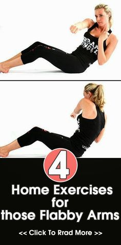 4 Best Home Exercises for Flabby Arms