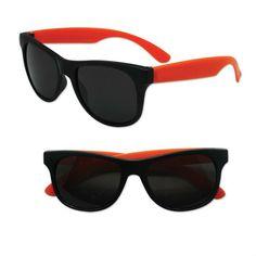 Adult Size Black and Orange Sunglasses Case Pack 300