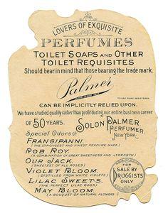Antique Ephemera - Amazing Romantic Violets Perfume Ad - The Graphics Fairy