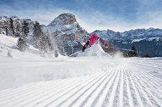 Skiing The Italian Dolomites: The 24-mile Sella Ronda circuit is a dream for powder lovers tired of crowds.