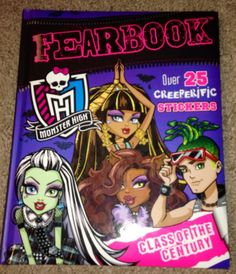 Monster High Fearbook. Book NEW Hard Cover Book