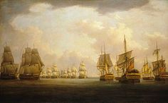 Horatio Nelson  1758-1805  Admiral Sir Robert Calder's action off Cape Finisterre, 23 July 1805  (Are you a RAPper or a RAPscallion? http://www.regencyassemblypress.com)