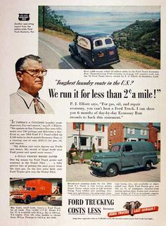 1951 Ford Truck Ad