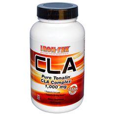 Country Life, Gluten Free, Iron-Tek, CLA, Pure Tonalin CLA Complex, 1000 mg, 90 Softgels.