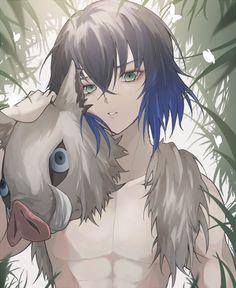 Inosuke - Demon Slayer/Kimetsu no Yaiba Otaku Anime, 5 Anime, Anime Demon, Anime Guys, Anime Art, Demon Slayer, Slayer Anime, Demon Hunter, Cute Anime Boy