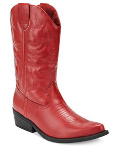 Rampage Shoes, Wellington Cowboy Boots