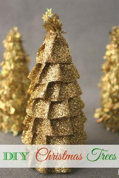 3 DIY Christmas Trees