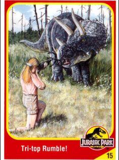 Jurassic Park Trading Cards Jurassic Park Poster, Jurassic Park Jeep, Jurassic Park Trilogy, Jurassic World 2015, Jurassic World Fallen Kingdom, Michael Crichton, Thriller, Science Fiction, Amber Fossils