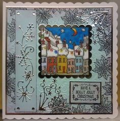 docrafts christmas cards stamps - Google Search