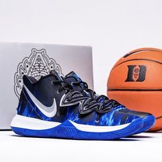 "save off f58bb 60add KicksOnFire on Instagram  ""Duke gets their own Nike Kyrie 5 PE. 1-10, what  would you rate this colorway   kicksonfire"""