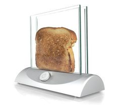Transparent Toaster of the Day: How is this not on shelves?! Toast-making would be epic. [incrediblethings]