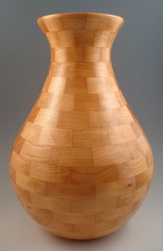 wood vase by TX Turnings
