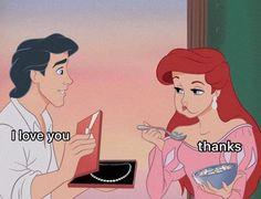 Cartoon Quotes, Cartoon Pics, Cute Cartoon Wallpapers, Cartoon Art, Ariel Cartoon, Funny Disney Jokes, Disney Memes, Funny Memes, True Memes