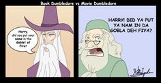 The Harry Potter fandom is not going to get over this one. Ever. Ridiculous Harry Potter, Harry Potter Love, Harry Potter Universal, Harry Potter Fandom, Harry Potter Memes, Harry Potter Crossover, Harry Potter Comics, Potter Facts, Books Vs Movies