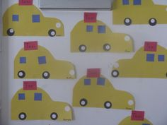 World Class Kids lesson: T is for Taxi Preschool craft